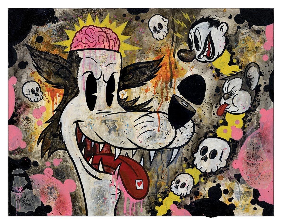 "Image of Frank Forte ""Acid Wolf"""