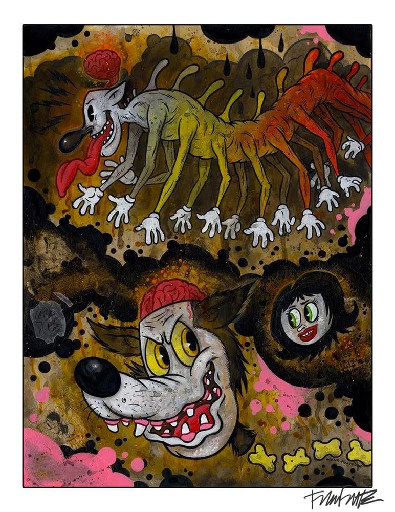 "Image of Frank Forte ""Centipede Terrors""  Price:$30"