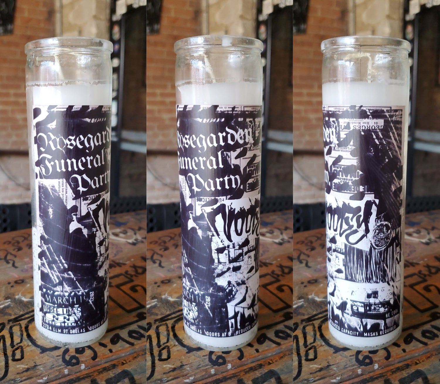 Rosegarden Funeral Party, Noogy Candle