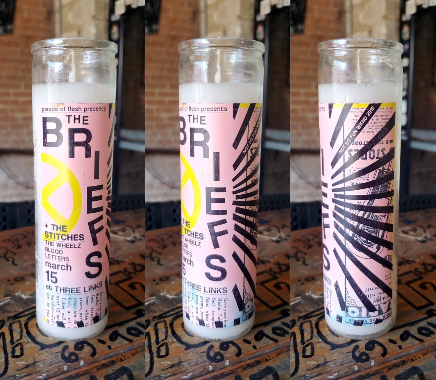 The Briefs Candle