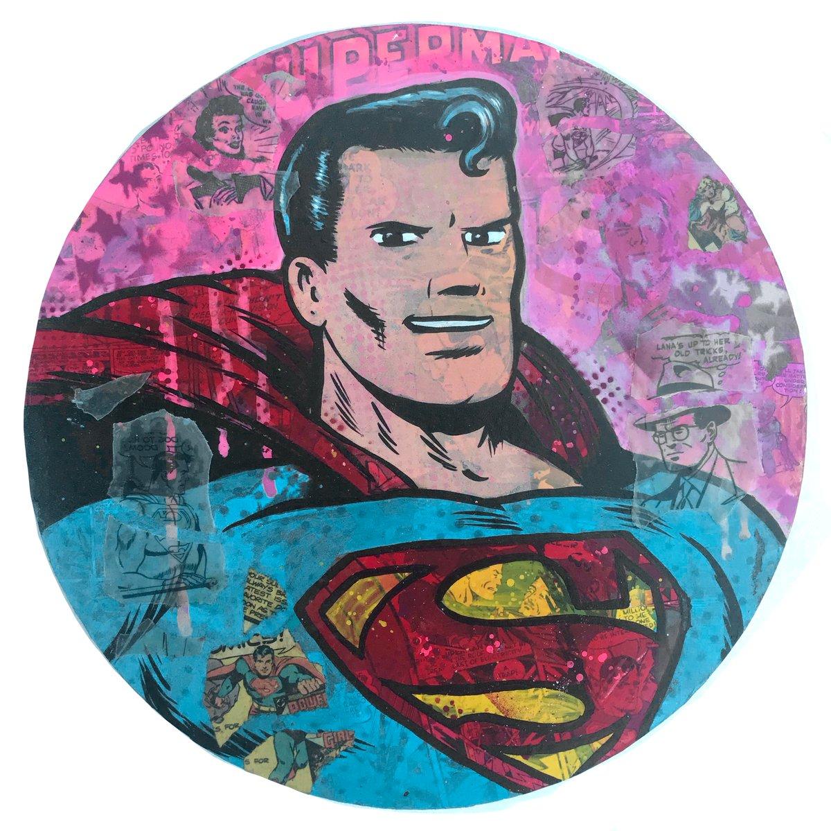 """Image of   Dr. Smash/Frank Forte """"Superman No.4"""""""
