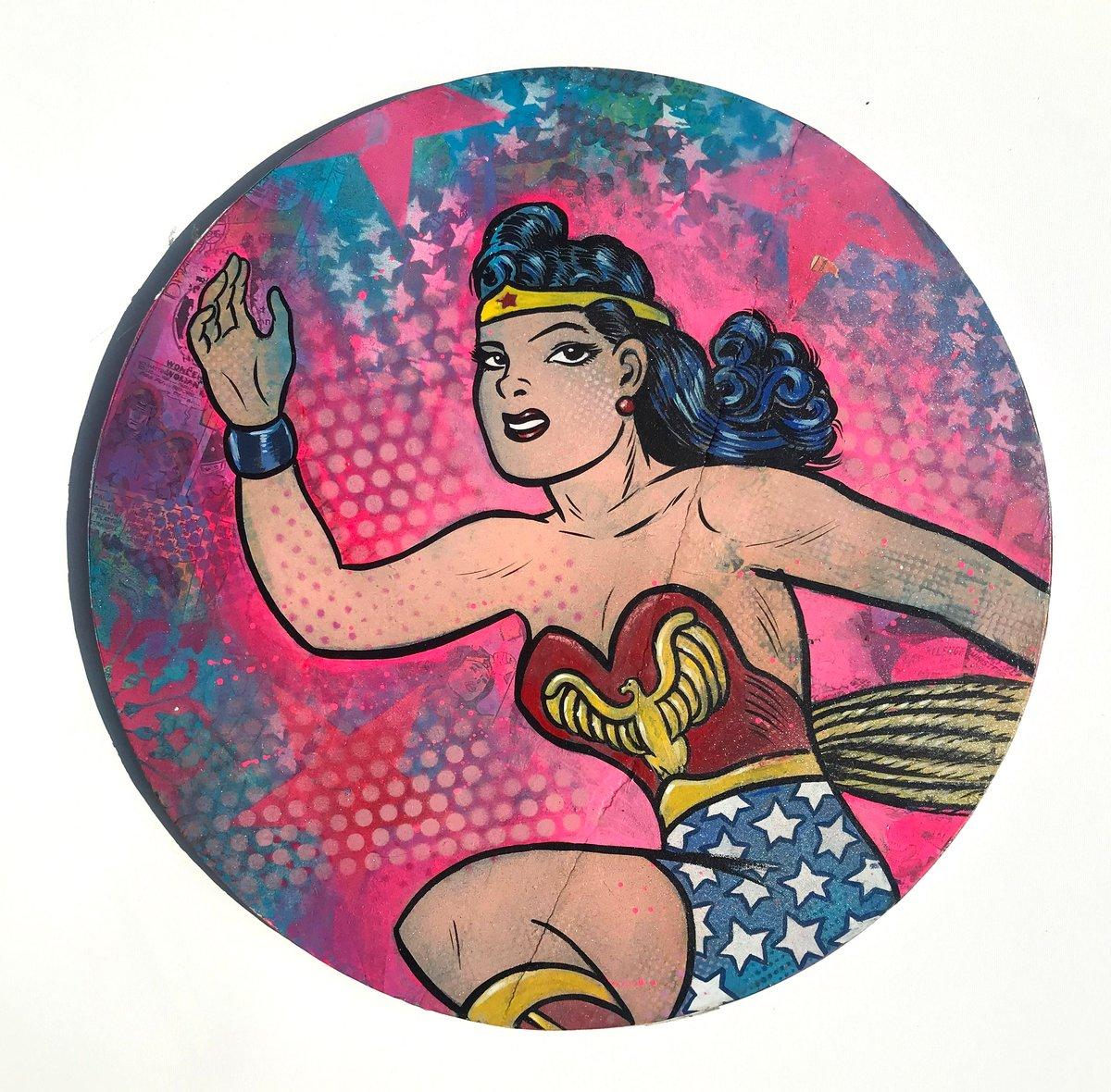 """Image of Dr. Smash/Frank Forte """"The Sensational Wonder Woman No. 7"""""""
