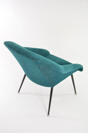 Image of Fauteuil coquille verte
