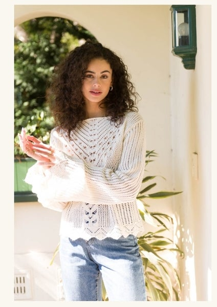 Image of Lovely Tahlia knit Top.