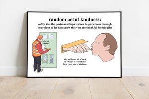 Image of postmans fingers- poster