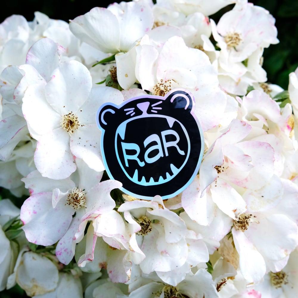 Image of RAR Rawr Sticker