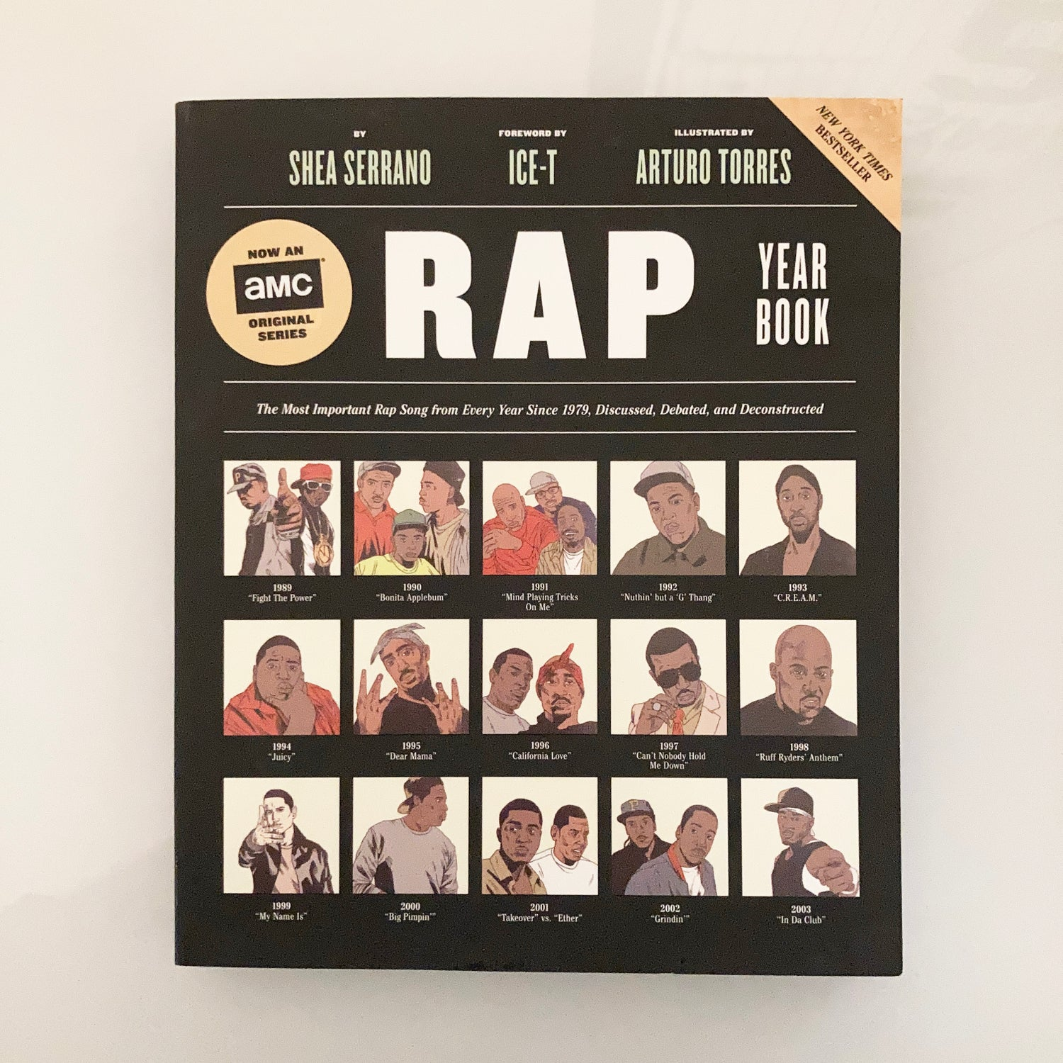 Image of The Rap Year Book: The Most Important Rap Song From Every Year Since 1979