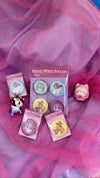 Bunny Witch 4 Buttons Set