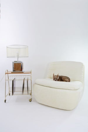 Image of Fauteuil NYC ivoire