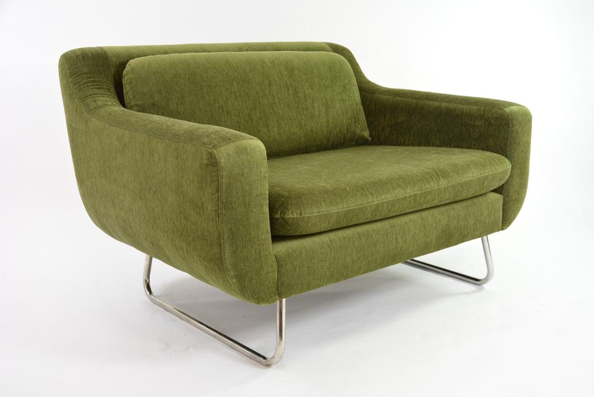 Image of Grand fauteuil Conran vert