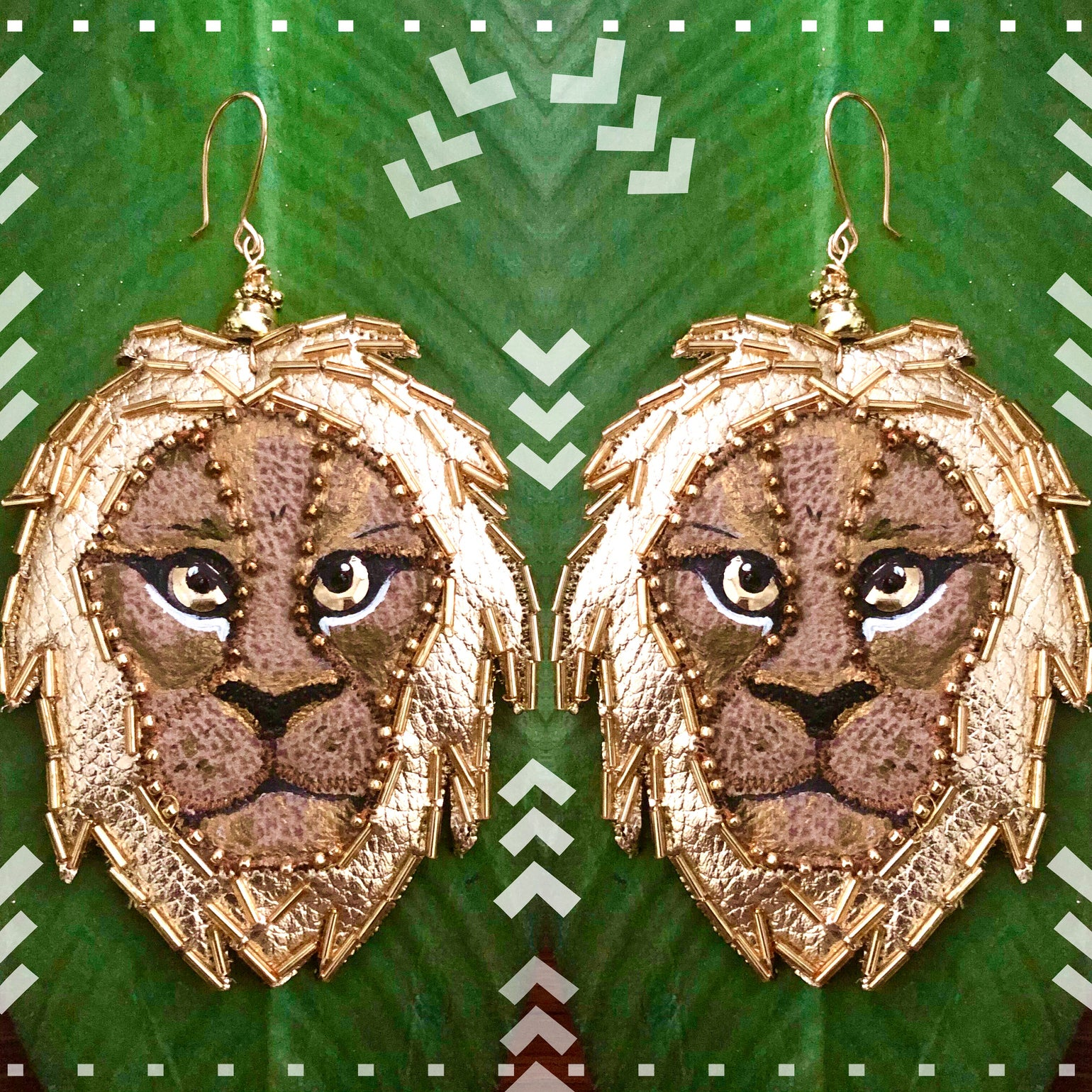 Image of Lions Gate Statement Earrings