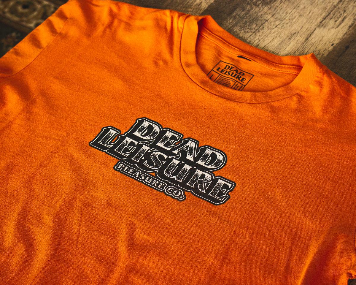 Block Logo T-shirt - Orange