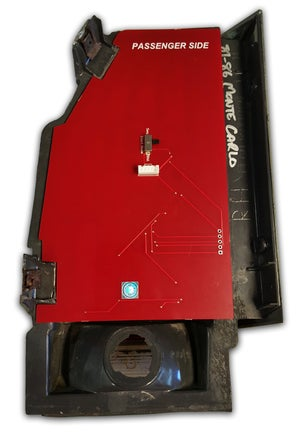 Image of 1981-85 Non SS 1986 SS Monte Carlo Sequential LED Tail Light Kit Product # 1101081