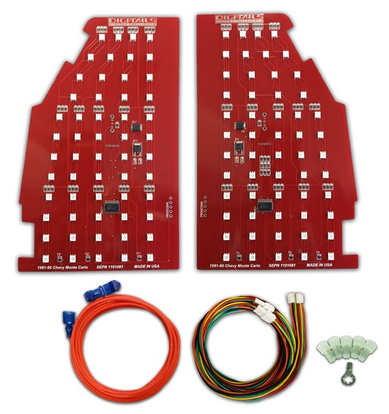 Image of 1986 SS Monte Carlo Sequential LED Tail Light KitProduct #:  1101081