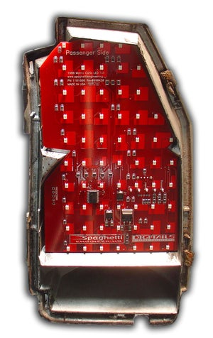 Image of 1986-1988 LS/1987-88 SS Chevy Monte Carlo LED Tail Light Panels Product # 1101086