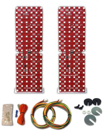 Image of 1981-88 Oldsmobile Cutlass Led Sequential Taillight Kit Product # 1101281