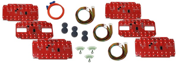 Image of 1983-87 Buick Regal/GN 6 Panel Taillight Kit Product #  1100886-6