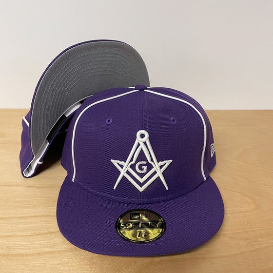 Image of Purple Piping Fitted 59Fifty