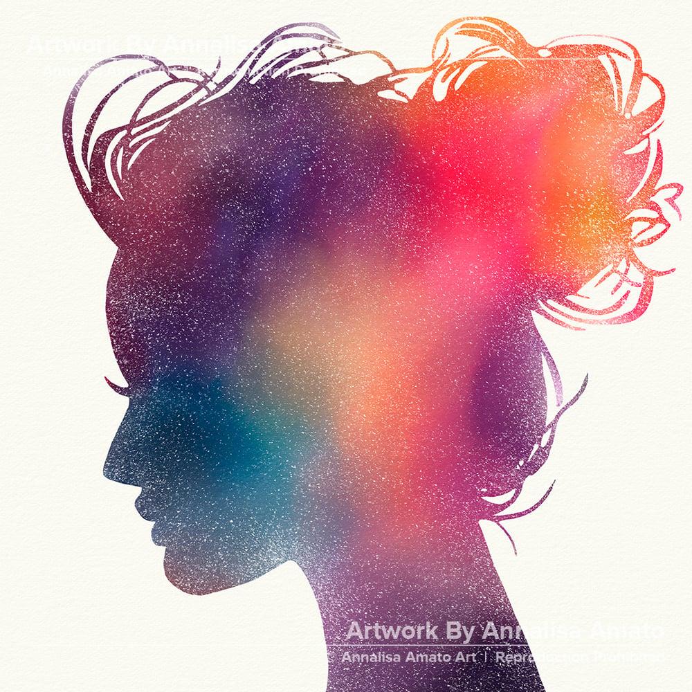 Galaxy Girl  - Artwork  - Prints