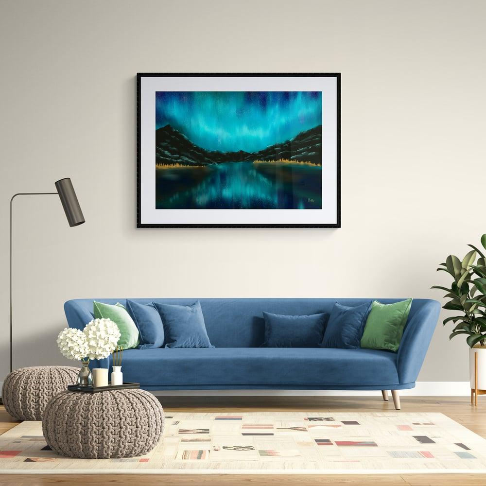 Blue Aurora  - Artwork  - Prints