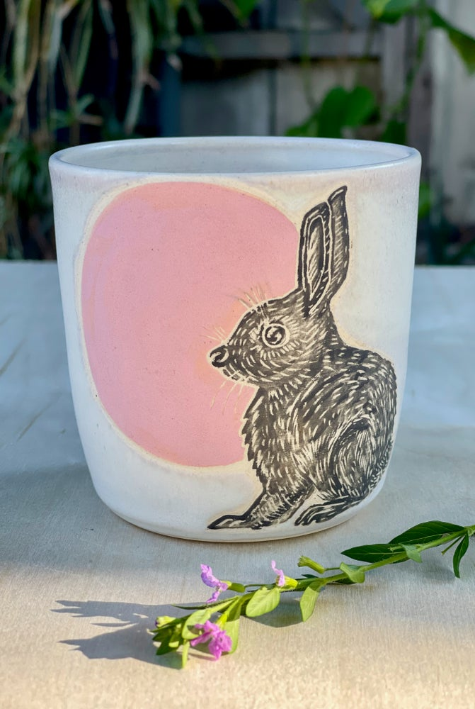Image of Strawberry Moon Bunny
