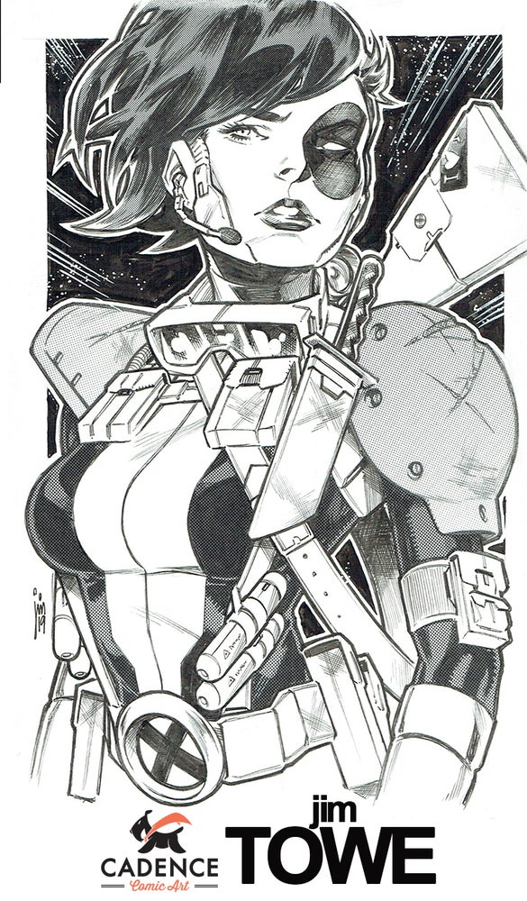 Image of Jim Towe 6x9 Commission List (Mail Order) List opens FRIDAY 7/31 at 3PM EST.