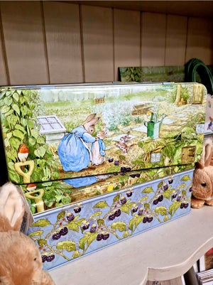 Image of Peter Rabbit Hinged Lid Tin
