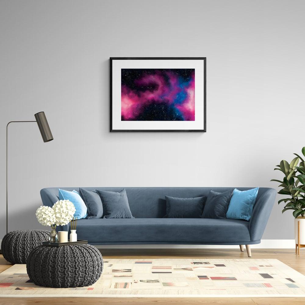Pink Galaxy - Artwork  - Prints