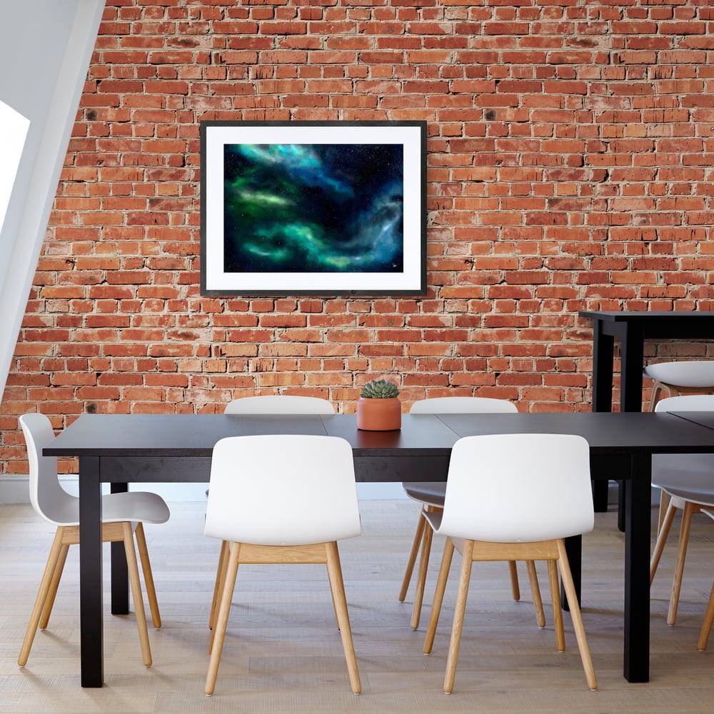 Blue Nebula Galaxy  - Artwork  - Prints