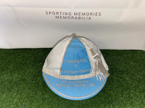 Image of Coventry City 1987 FA Cup Winners Commemorative Cap