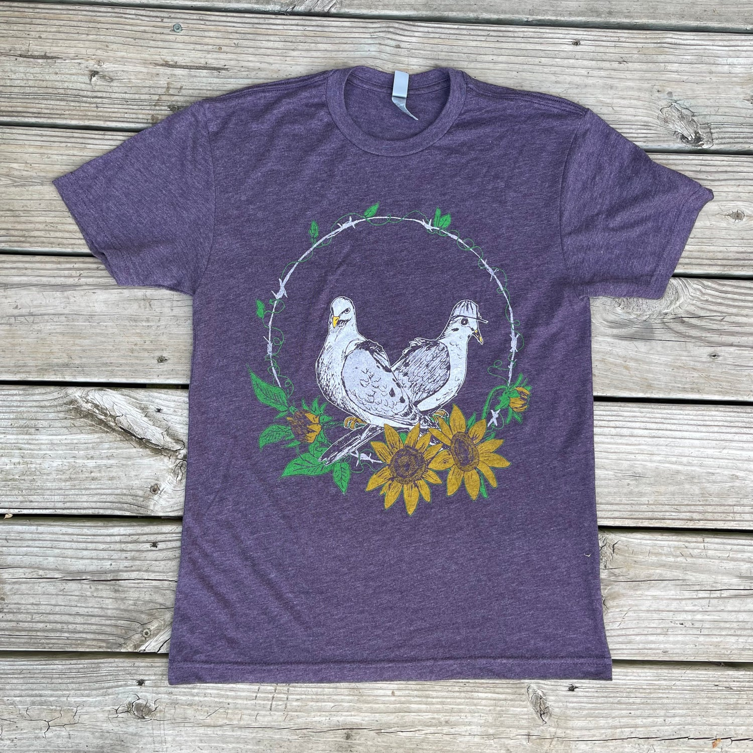 Image of Adult Dove Short Sleeve Tee