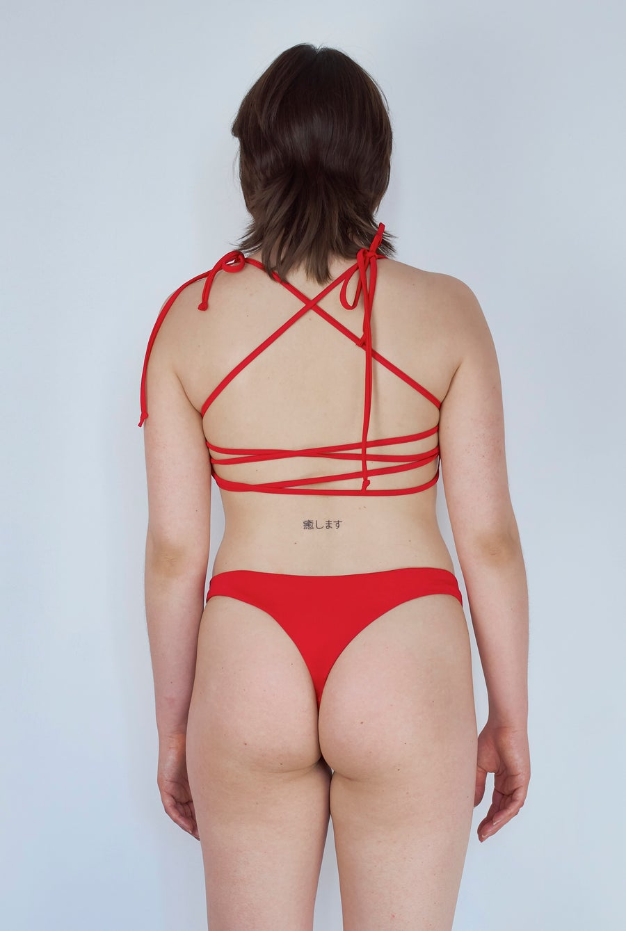 Image of Maria Cheeky - Hot Red