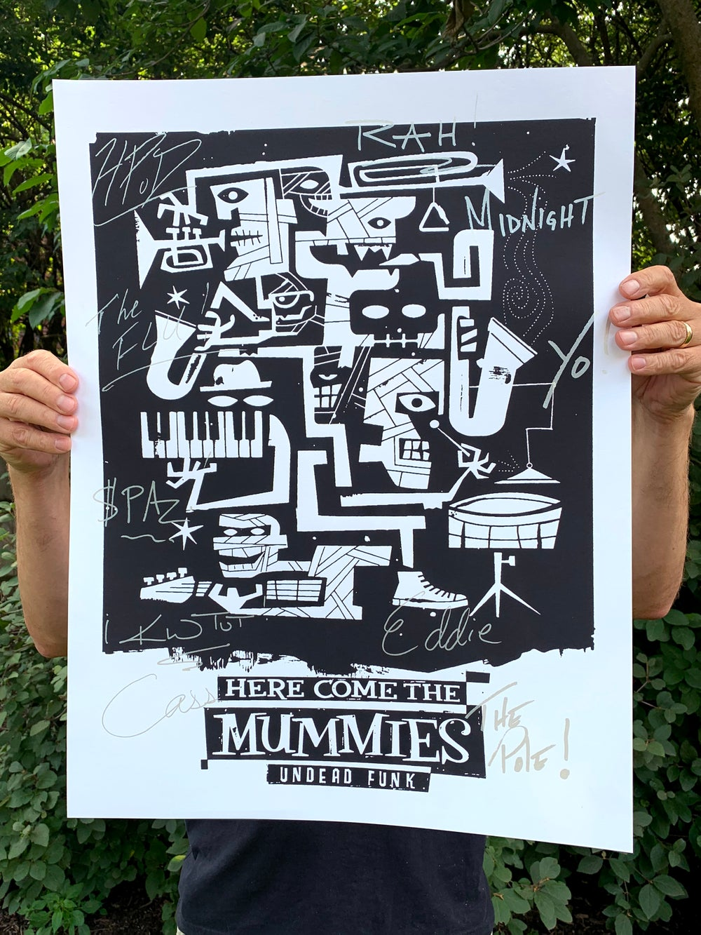 Here Come the Mummies - Undead Funk Signature Series