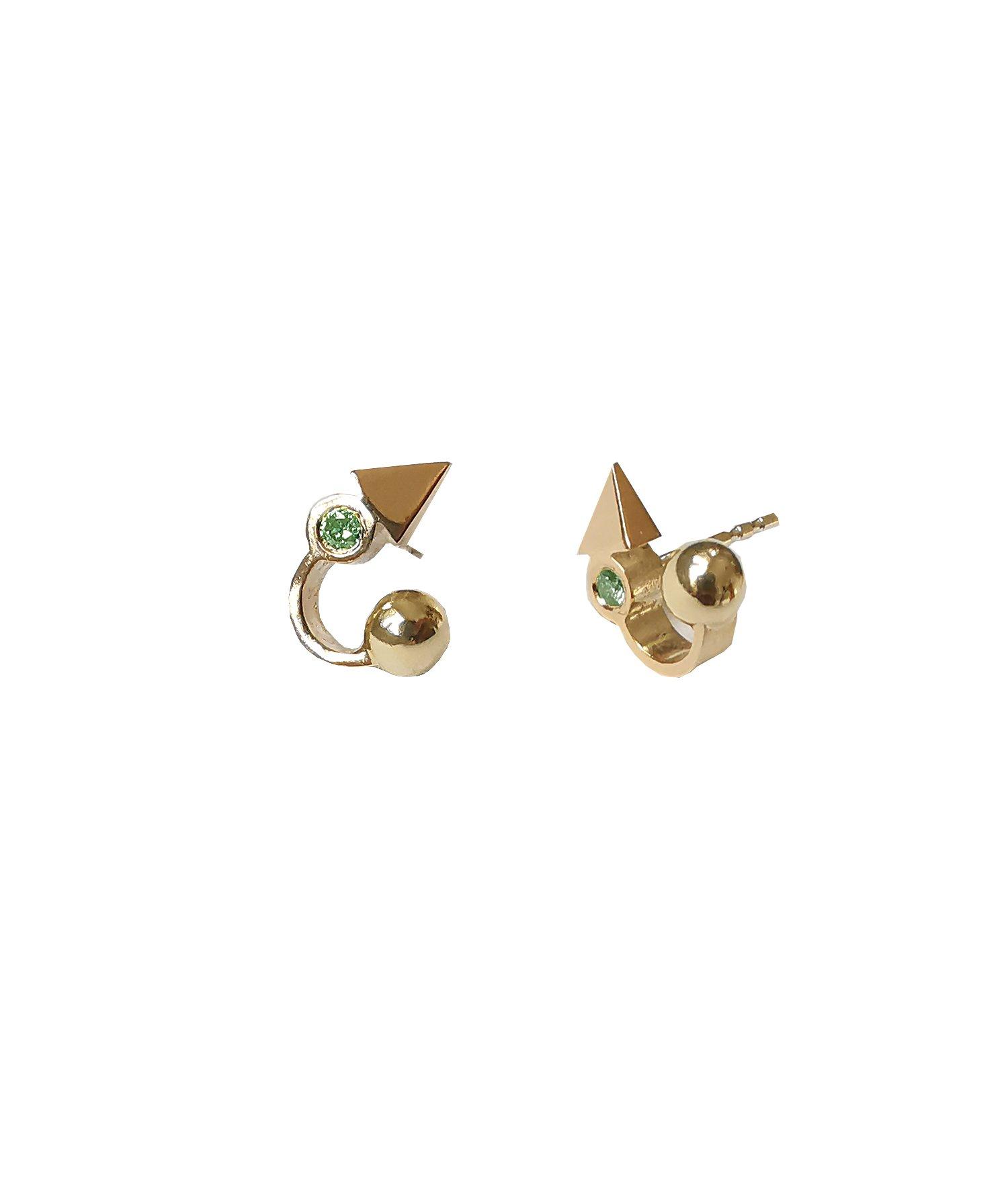 Image of Microdot no3 /green diamond