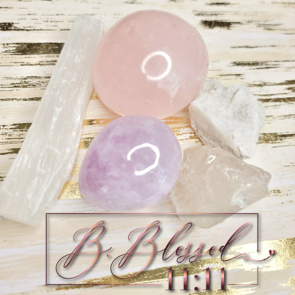 Image of Love and Healing Crystal Pack