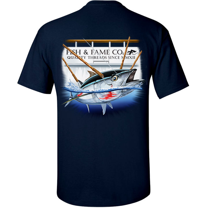 Image of Blue Fin Tee (navy)