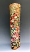 """""""Foxgloves"""" lustre flambe vase - 2"""
