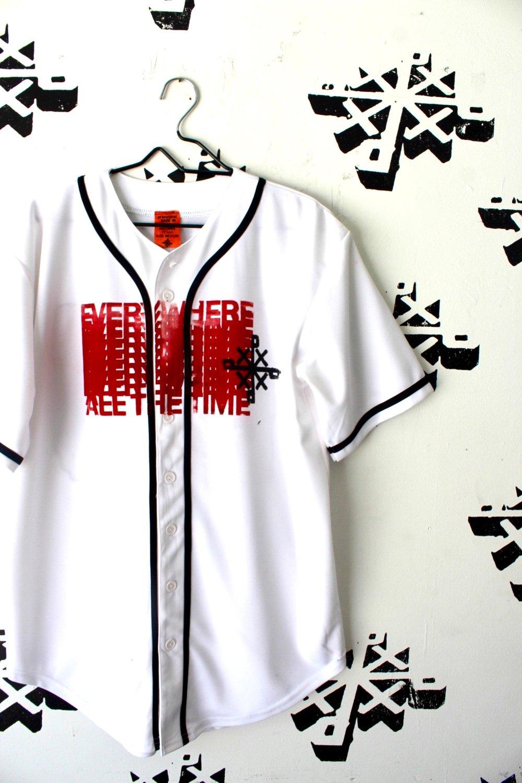 ewat baseball jersey in white