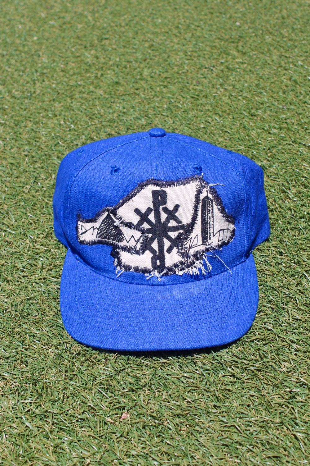 only up baseball cap in blue