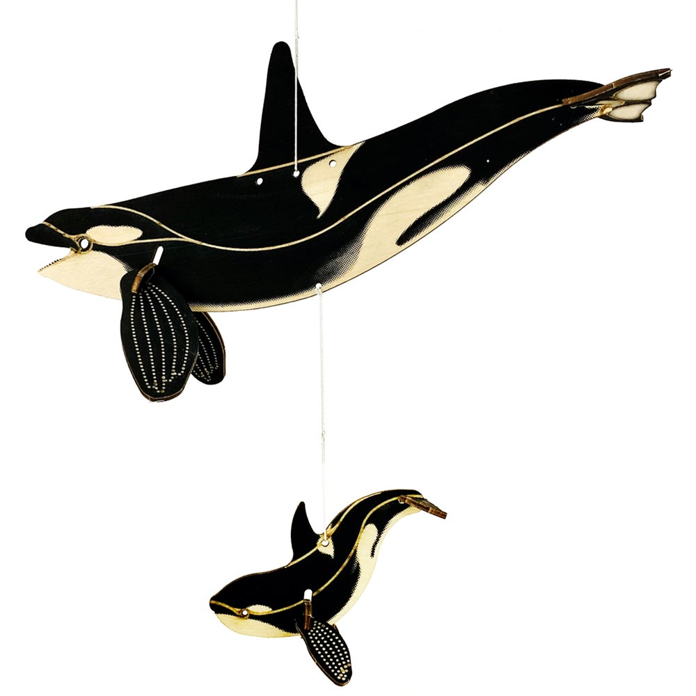 Image of JCR WHALES : ORCA + BABY FAM-PACK
