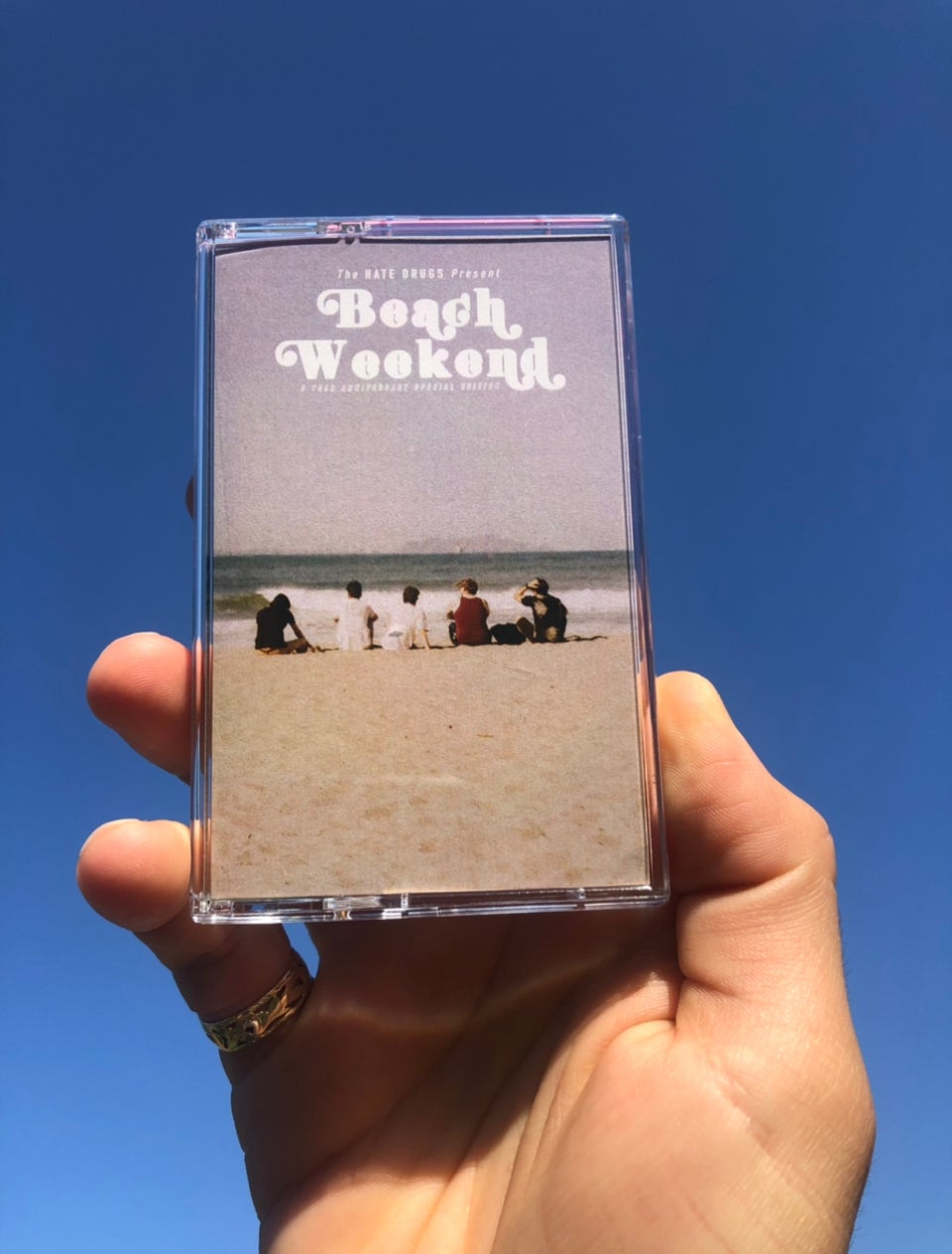 Beach Weekend Special Edition Cassette Tape