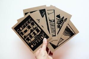 "Image of ""Coffee Outside"" Postcard Set"
