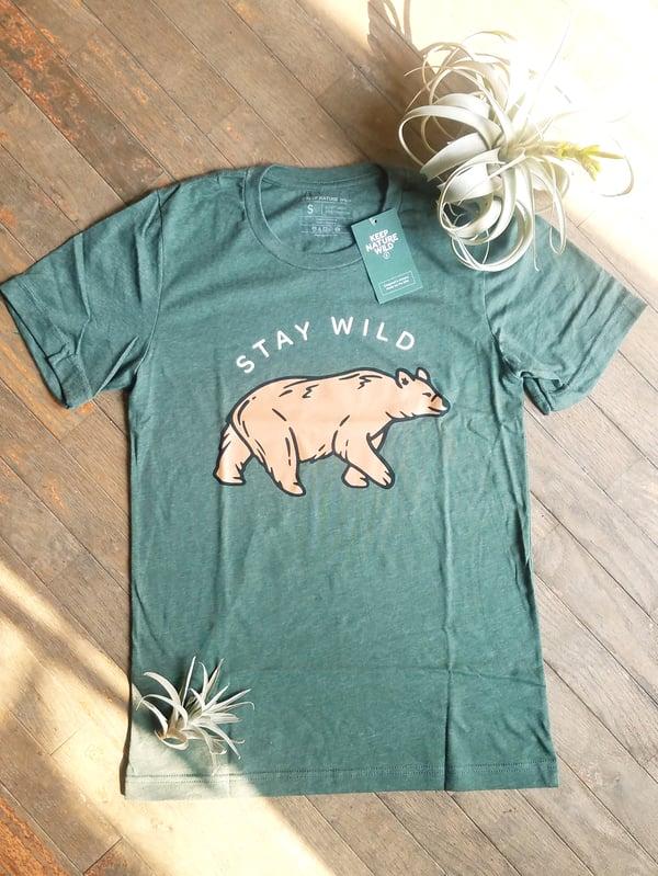 Image of Stay Wild Bear Unisex Tee