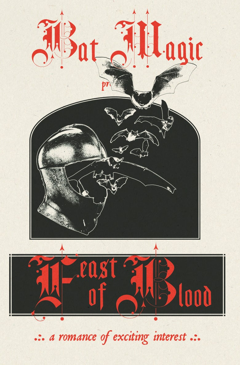 "Image of PRE-ORDER SEC31: BAT MAGIC - ""FEAST OF BLOOD"" CS"