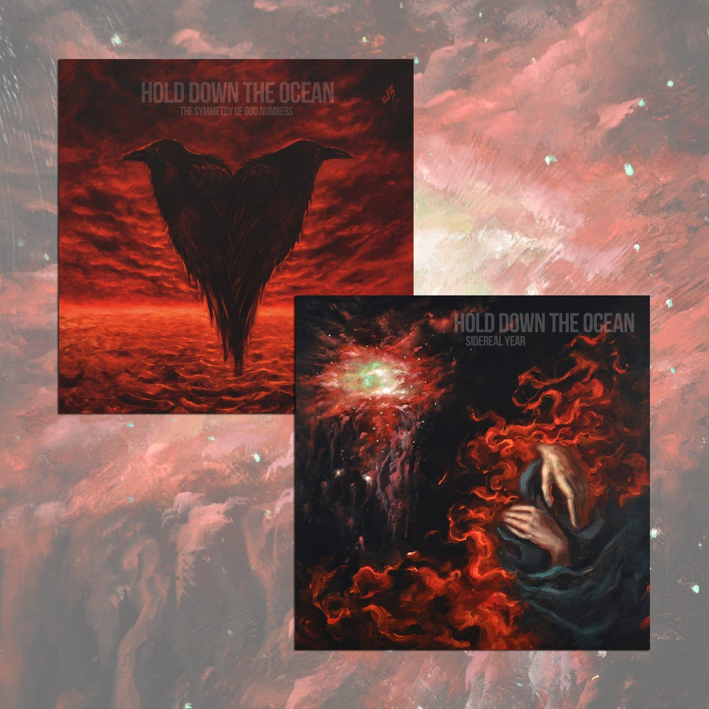 Image of Hold Down The Ocean - Sidereal Year + The Symmetry Of Odd Numbers LP/CD Bundle
