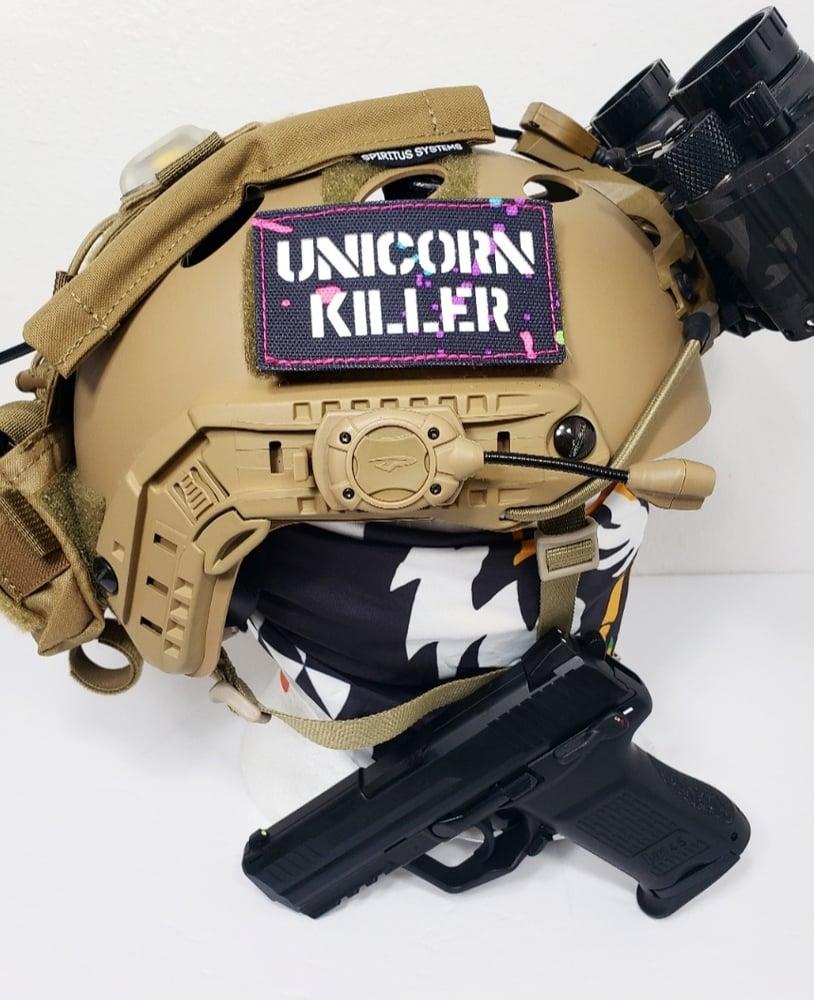 Image of Unicorn killer gitd laser cut