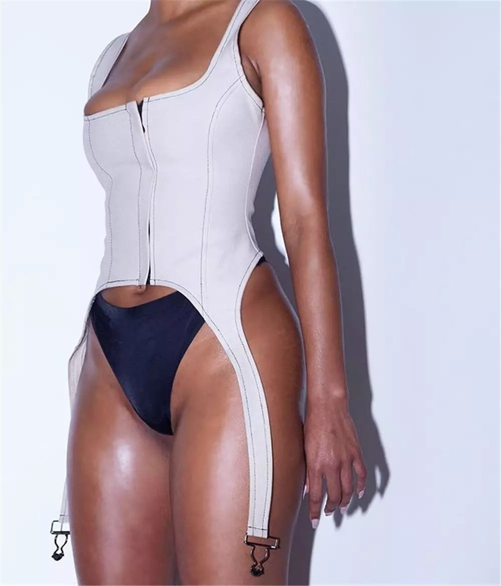 Image of SQUARED BUSTIER