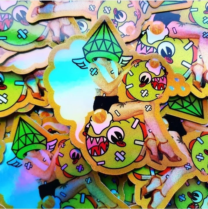 Image of Lucy x Kaiju Holographic Sticker