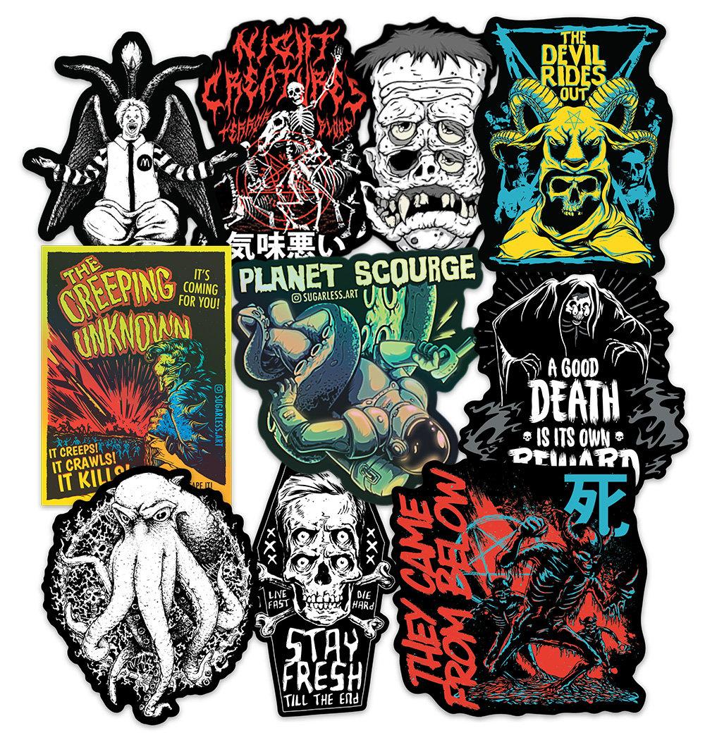 Macabre Sticker Pack
