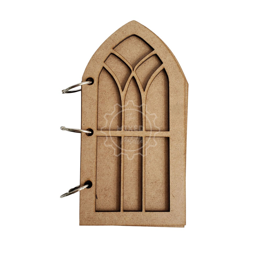 Gothic Window Tag Book